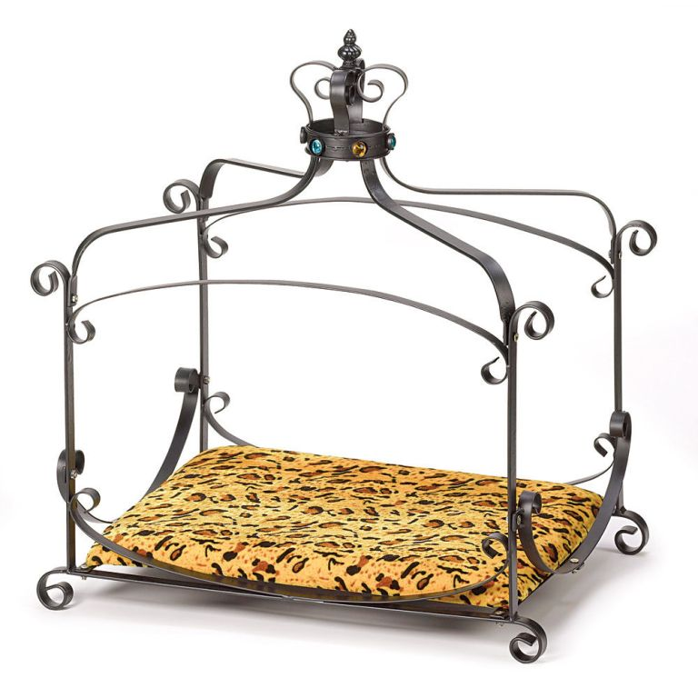 royal-splendor-pet-metal-canopy-bed-small-dog-cat-puppy